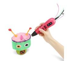 3D ручка Мастер-Пластер Трио розовая