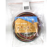Большой набор цветного PLA пластика - 14 цветов