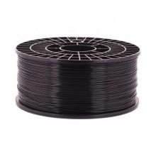 Катушка пластика PLA - цвет черный, 1 кг