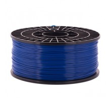 Катушка пластика PLA - цвет синий, 1 кг