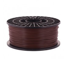Катушка пластика PLA - цвет коричневый, 1 кг