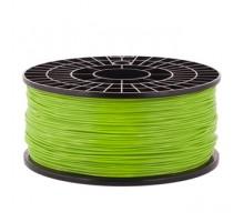 Катушка пластика PLA - цвет зеленый, 1 кг