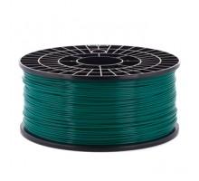 Катушка пластика PLA - цвет изумрудный, 1 кг