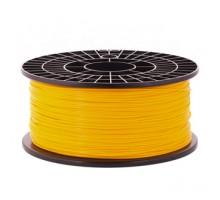 Катушка пластика PLA - цвет оранжевый, 1 кг