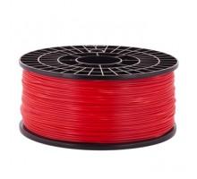 Катушка пластика ABS - цвет красный, 1 кг