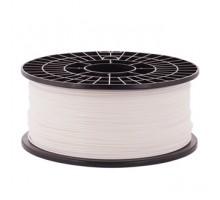Катушка пластика PLA - цвет белый, 1 кг