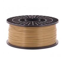 Катушка пластика ABS - цвет древесный, 1 кг