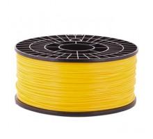 Катушка пластика PLA - цвет желтый, 1 кг