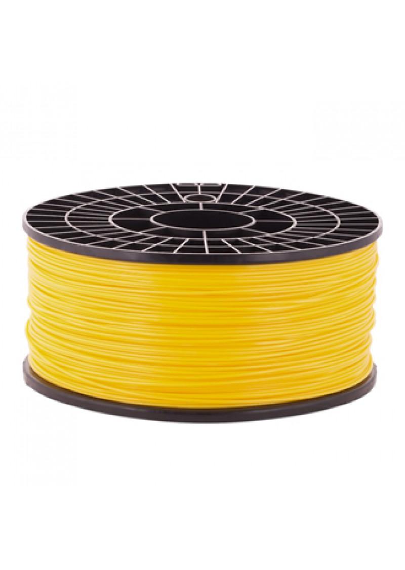 Катушка пластика ABS - цвет желтый, 1 кг